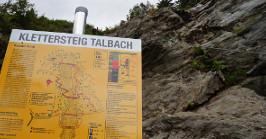 Klettersteig Talbach : Chalet talbach klettersteig